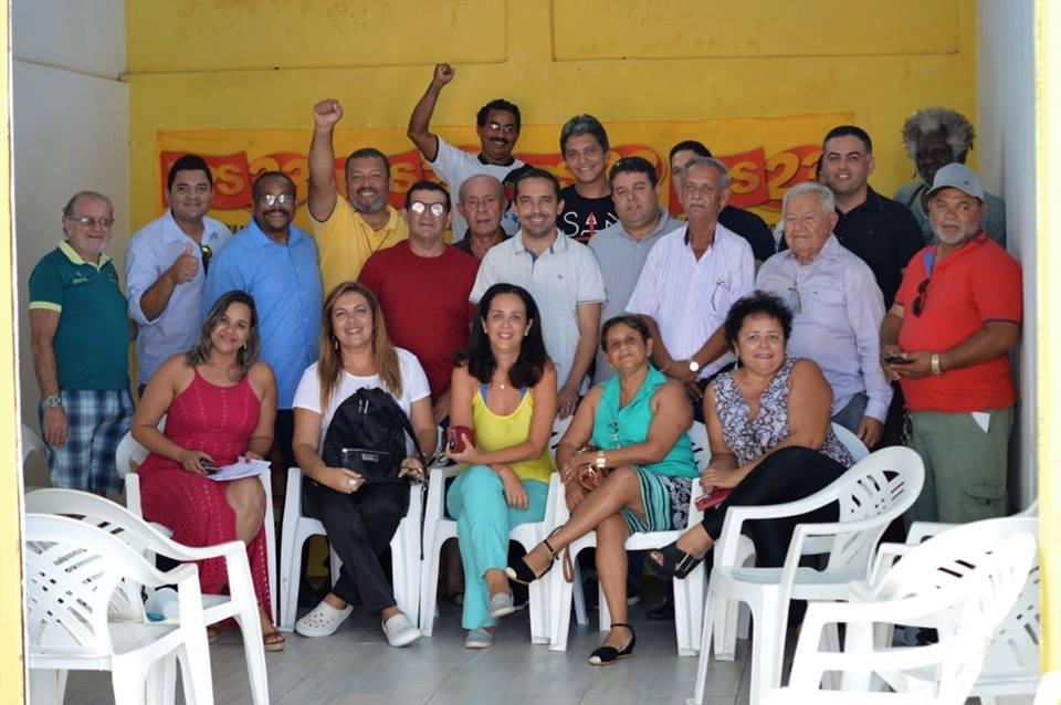 Reunião do Diretório Estadual do PPS23 - Partido Popular Socialista Sergipe, para analise das eleições 2018 e traçar novo rumo para 2019!