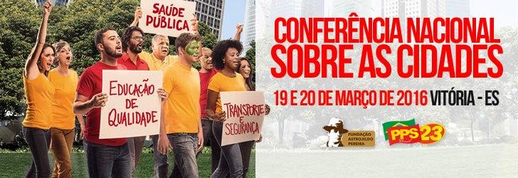 ENCONTROS REGIONAIS PREPARATÓRIOS À CONFERÊNCIA NACIONAL SOBRE AS CIDADES