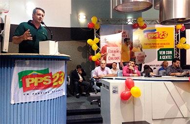 Alexandre Pereira é eleito para Executiva Nacional do PPS