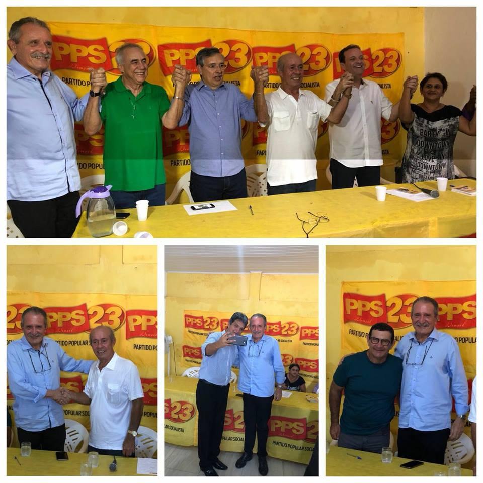 """O Partido Popular Socialista – PPS – realizou suas novas filiações nesta sexta-feira, dia 6, e um dos nomes que chegam ao partido é o de José Carlos Machado. """"Todos nós conhecemos"""