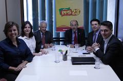 Carmen Zanotto participa de eleição do novo líder da bancada federal do PPS