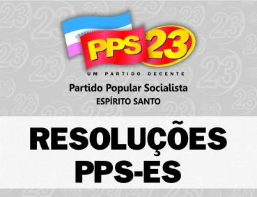 RESOLUÇÃO 01/2018: Convenção Eleitoral PPS-ES 2018