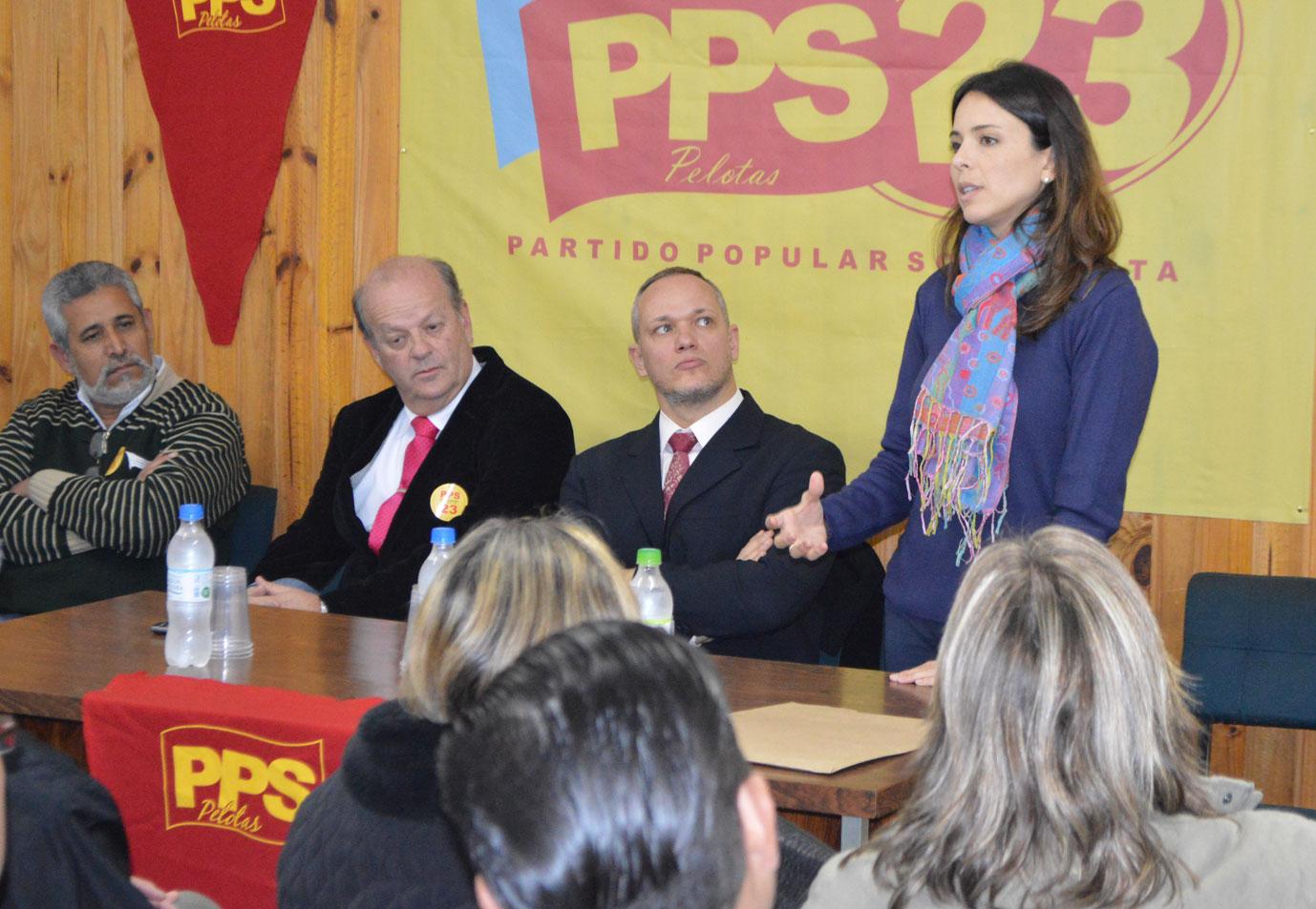 PPS de Pelotas discute eleições de 2016