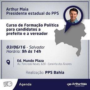 WORKSHOP DE GESTÃO E ESTRATÉGIA ELEITORAL DO PPS BAHIA