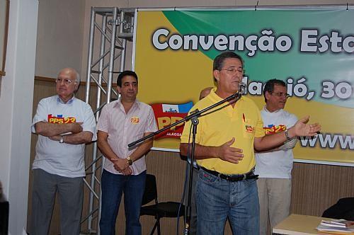 PPS lança chapa própria e José Costa para o Senado