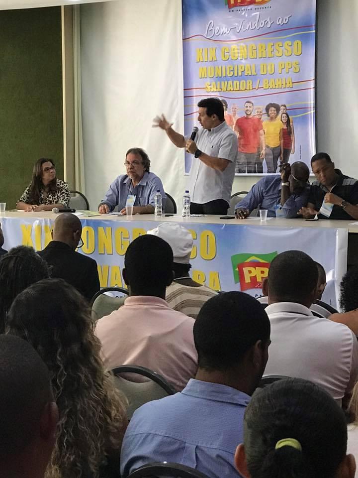 PPS Salvador realiza Convenção