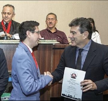 ALEXANDRE PEREIRA  RECEBE TÍTULO DE MEMBRO HONORÁRIO DA ACADEMIA CEARENSE DE DIREITO