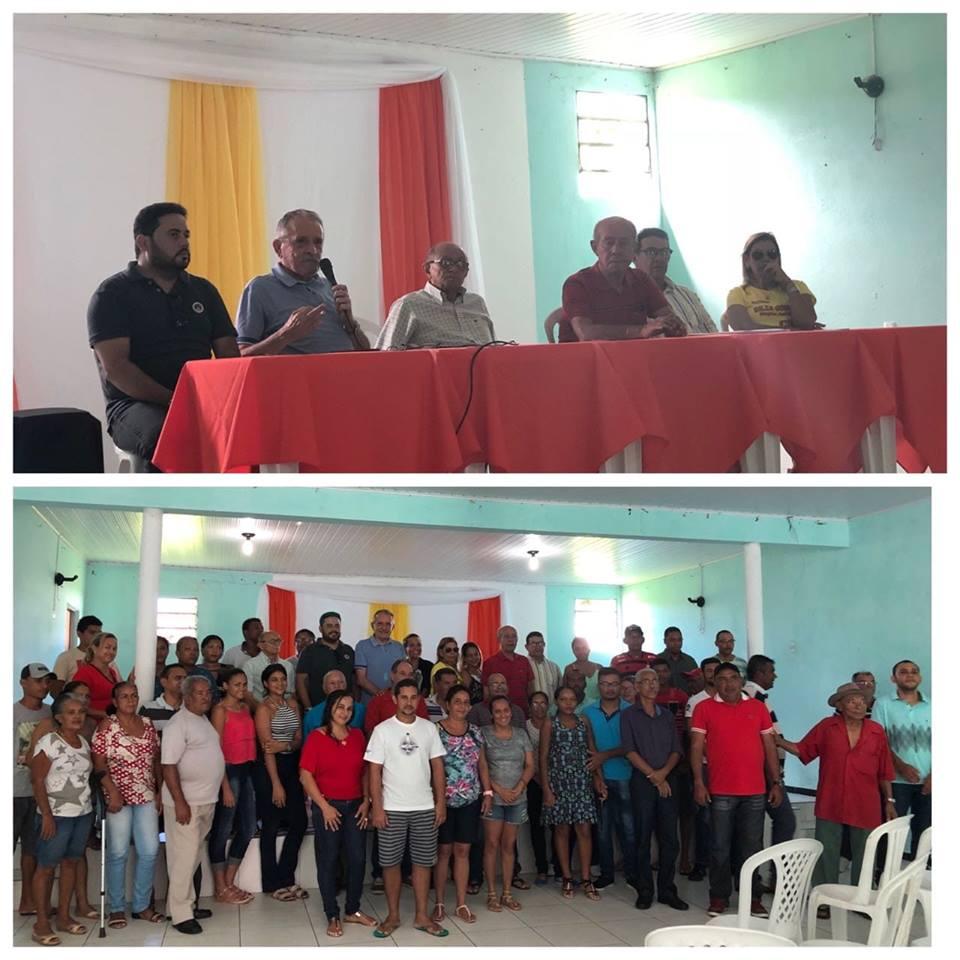 Em Umbaúba, tivemos um encontro com lideranças municipais e regionais no auditório da Câmara de Vereadores. Com a presença do vereador Robson Fortunato, presidente do diretório mun