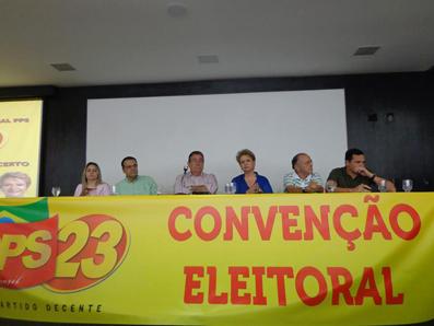 Convenção do PPS/RN para as Eleições 2014 foi um Sucesso