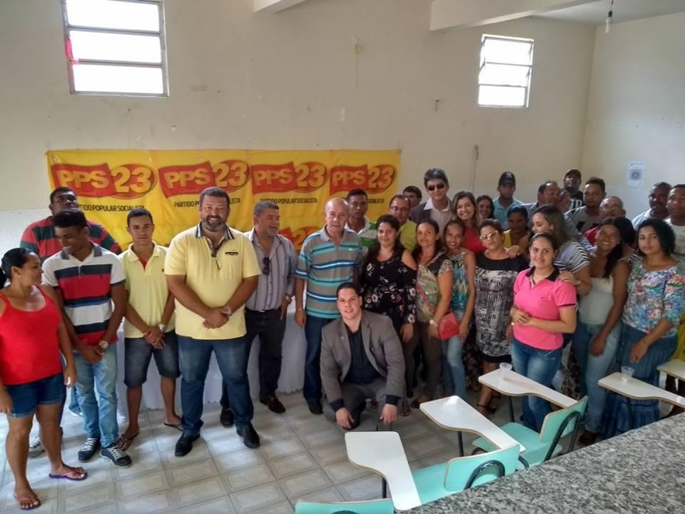 Congresso Municipal do PPS23 - Partido Popular Socialista Sergipe, em Brejo Grande - Se