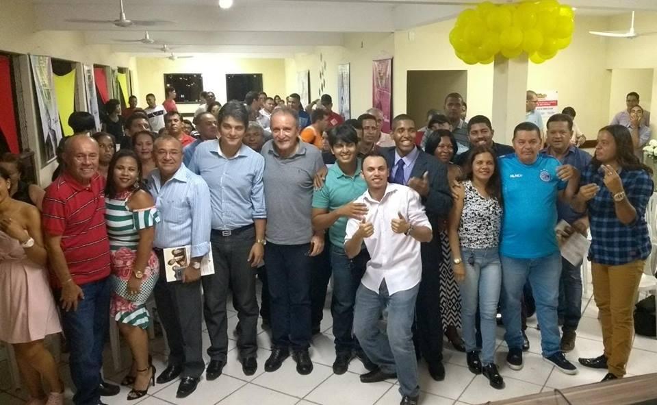 O presidente do PPS-Se juntamente com o pré candidato a deputado federal José Carlos Machado participaram do 2º encontro do PPS de Socorro que dirigido por Samuel Carvalho