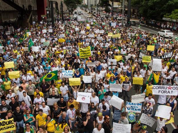 16 de agosto: PPS convoca militantes para protestos contra o governo Dilma.