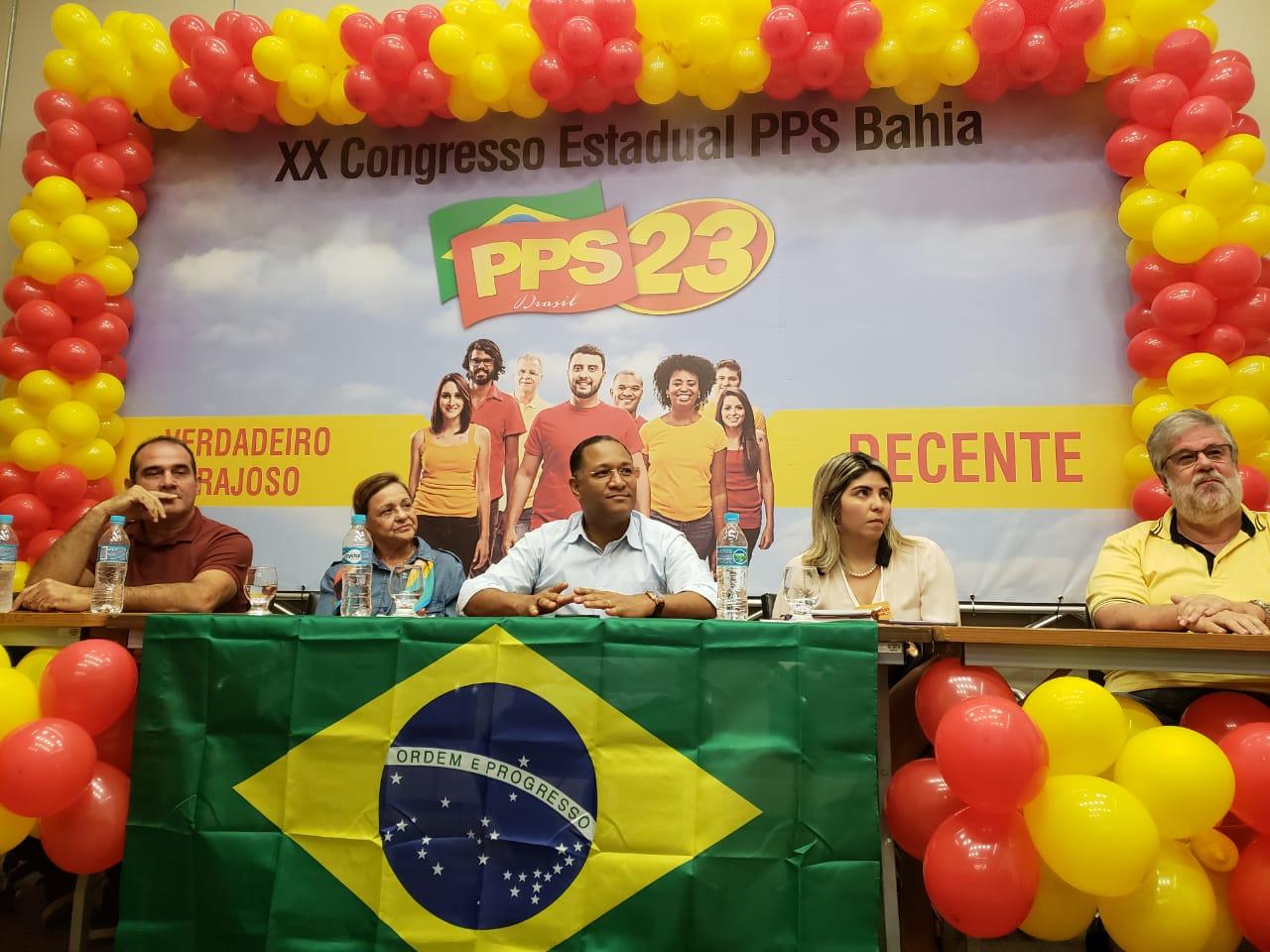 Congresso Estadual do PPS marca novo projeto de governo da sigla na Bahia