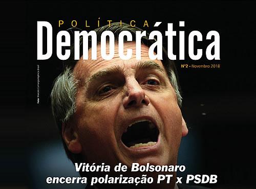 Revista Política Democrática online de novembro repercute eleição de Bolsonaro