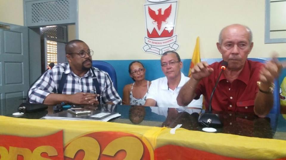 Neste domingo estivemos na Cidade de São Cristóvão acompanhado pelos companheiros da executiva, do pré candidato a deputado federal Kleber Nascimento, dos estaduais, Samuel Carvalh