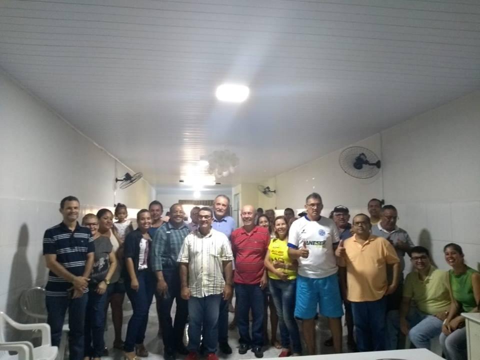 PÉ na estrada também esteve na Cidade de Tobias Barreto, quando o presidente Clóvis Silveira falou sobre o objetivo do projeto. A comitiva do PPS foi recebido pelo ex prefeito e pr
