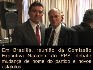 Comissão Executiva Nacional do PPS debate mudanças em Brasília