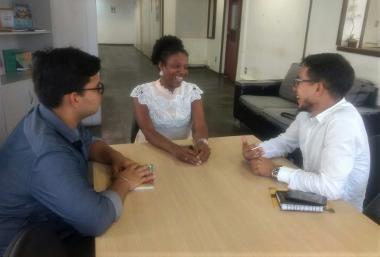JUVENTUDE: Novo coordenador da JPS inicia rodada de visitas e novas filiações
