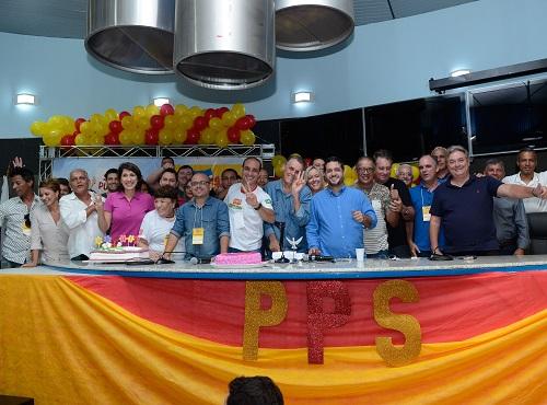 PPS-ES reconduz Fabrício Gandini à presidência do partido no estado
