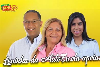 Leninha da autoescola apoia filha Karyna Alcântara e o vereador de Salvador Joceval Rodrigues