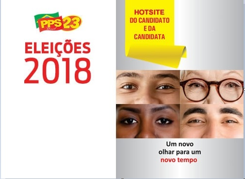 Eleições 2018: PPS lança hotsite para orientar candidatos e candidatas