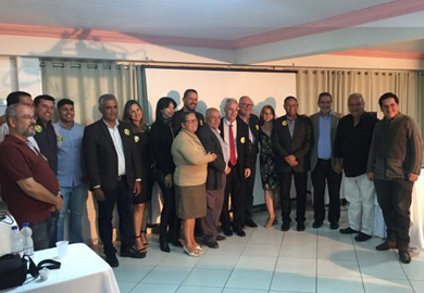 Eleições 2018: Encontro político sela dobradinha entre Valdir Barbosa e Joceval Rodrigues pelo PPS