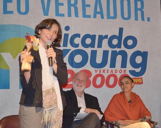 PPS elege dois vereadores para a C�mara paulistana: Ricardo Young e Ari Friedenbach